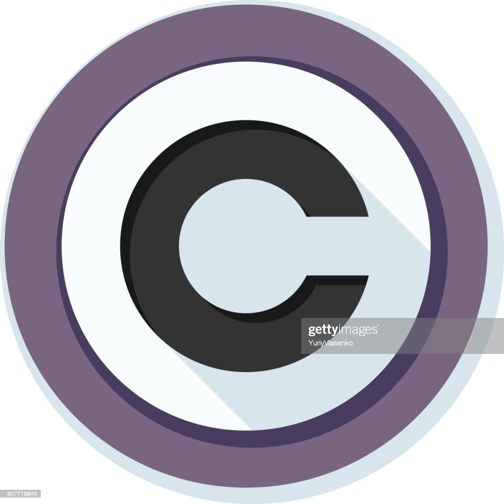 Copyright All Rights Reserved Illustration Vector Art Getty Images