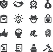 Copyright and Royalties Icons - Acme Series