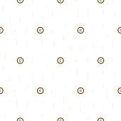 Copyright symbol thin abstract seamless pattern
