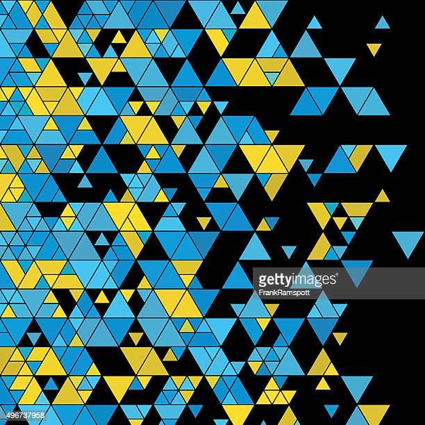 coral reef dreieck-design-hintergrund square - frankramspott stock-grafiken, -clipart, -cartoons und -symbole