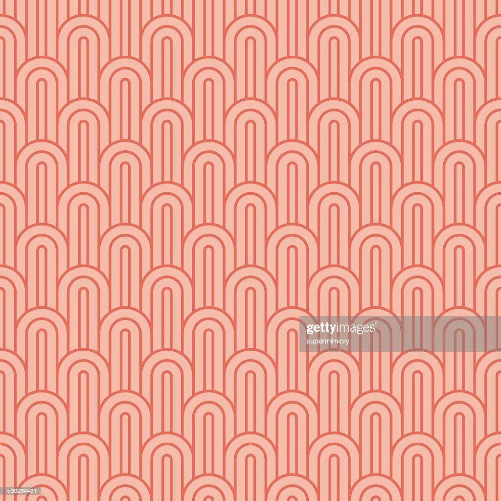 coralpink overlapping arcs