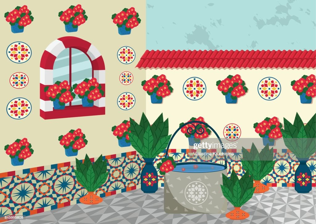 Cordoba interior gardens