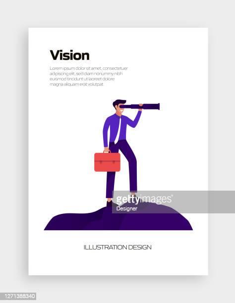 illustrations, cliparts, dessins animés et icônes de valeurs fondamentales concept vector illustration pour bannière de site web, publicité et matériel de marketing, publicité en ligne, présentation d'affaires etc. - objectif