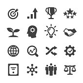 Core Values Icons Set - Acme Series