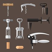 Corkscrews set