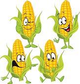corn cartoon