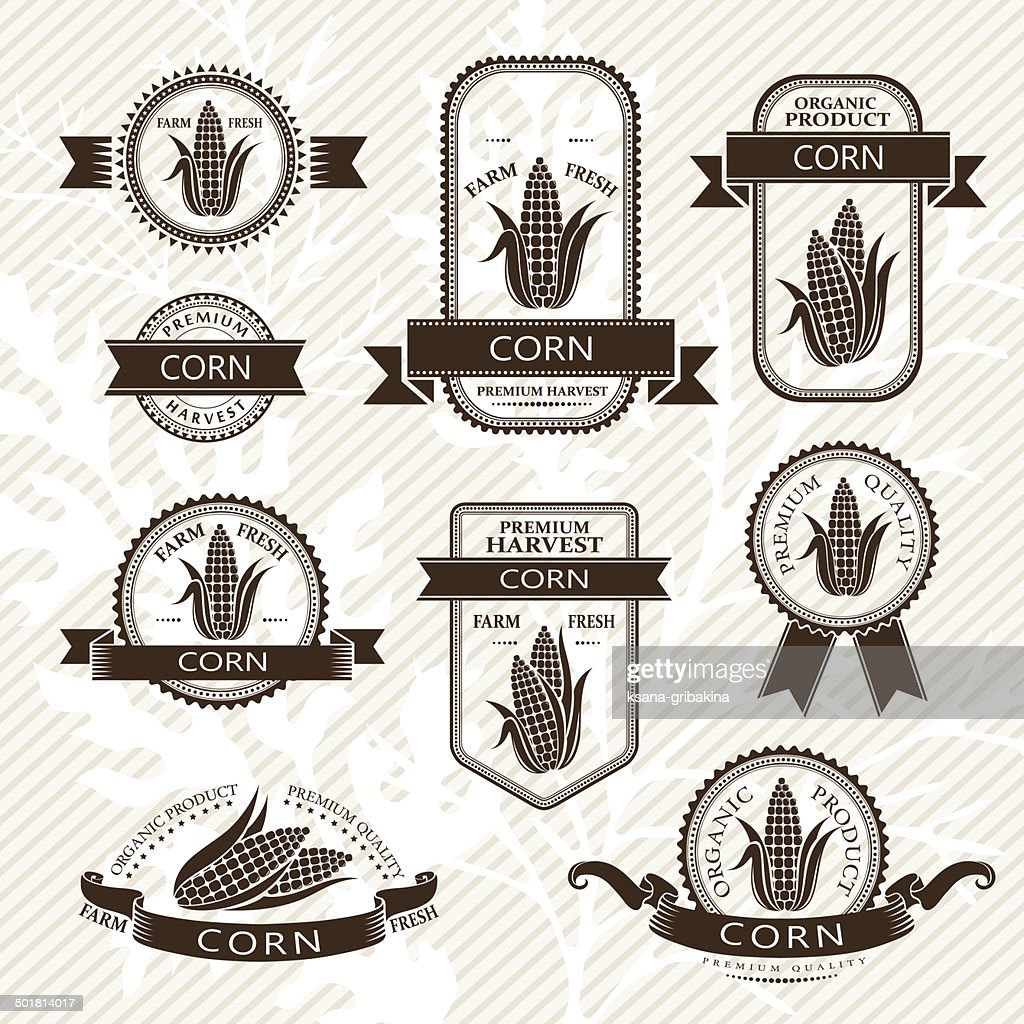 Corn labels