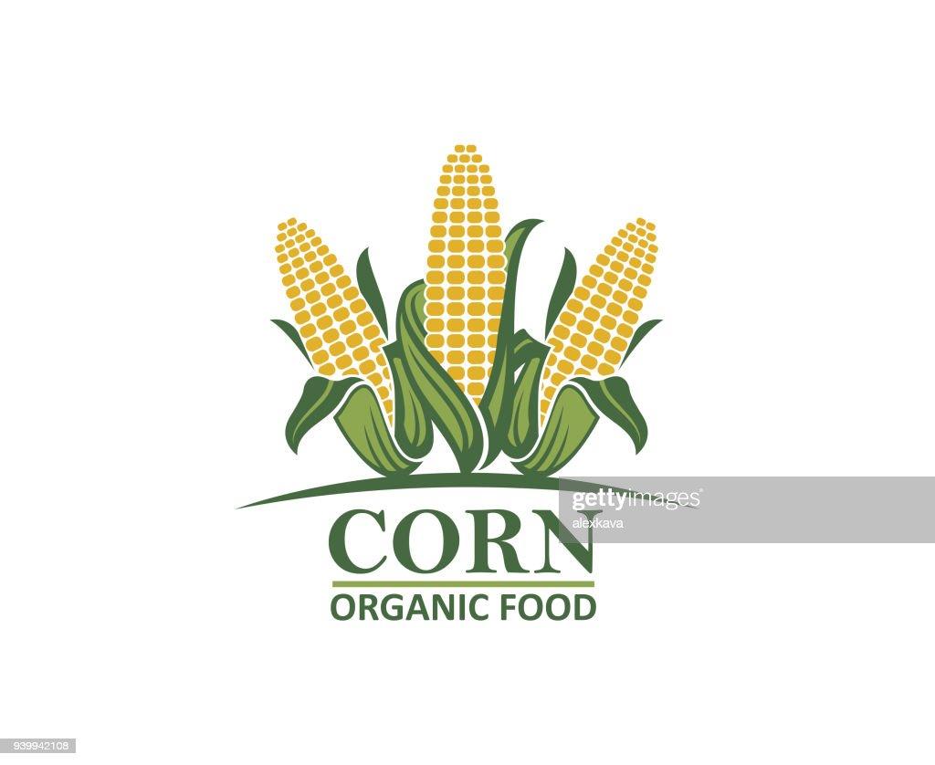 corn vegetable emblem