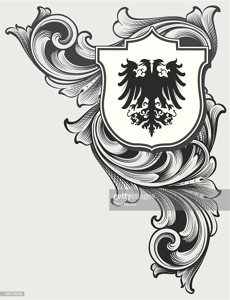 Corner Coat Of Arms