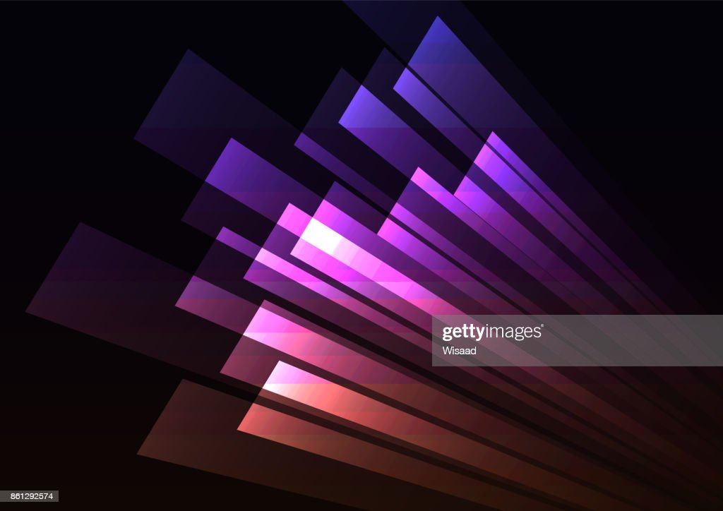 corner speed rush pink purple bar abstract background