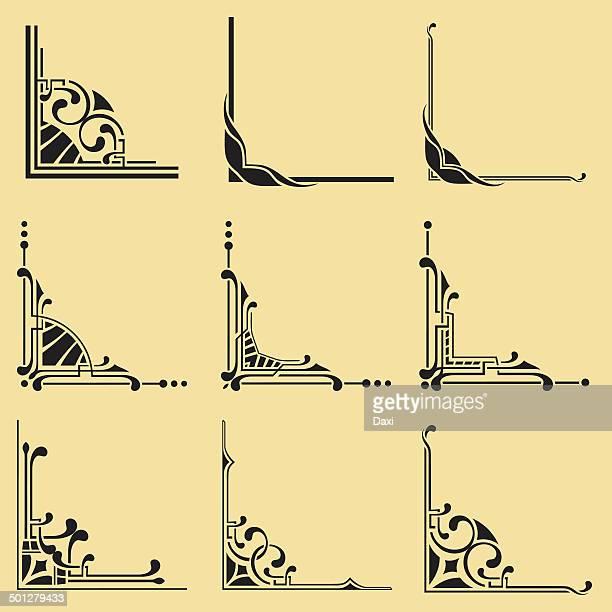 illustrazioni stock, clip art, cartoni animati e icone di tendenza di gli angoli - intelaiatura