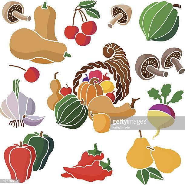 cornucopia and produce