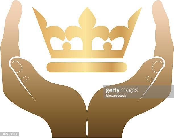 coronation - corona zon stock illustrations