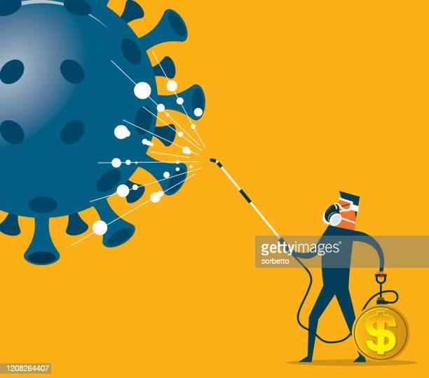 coronavirus - economic crisis - coronavirus stock illustrations