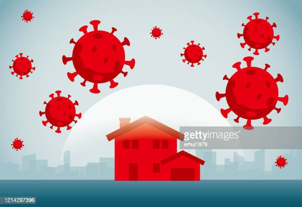 stockillustraties, clipart, cartoons en iconen met coronavirus - coronavirus