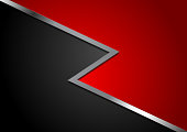 Corporate abstract red and black background