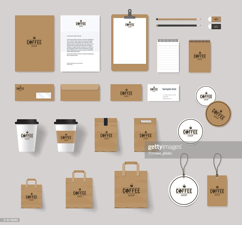 corporate branding identity mock up template