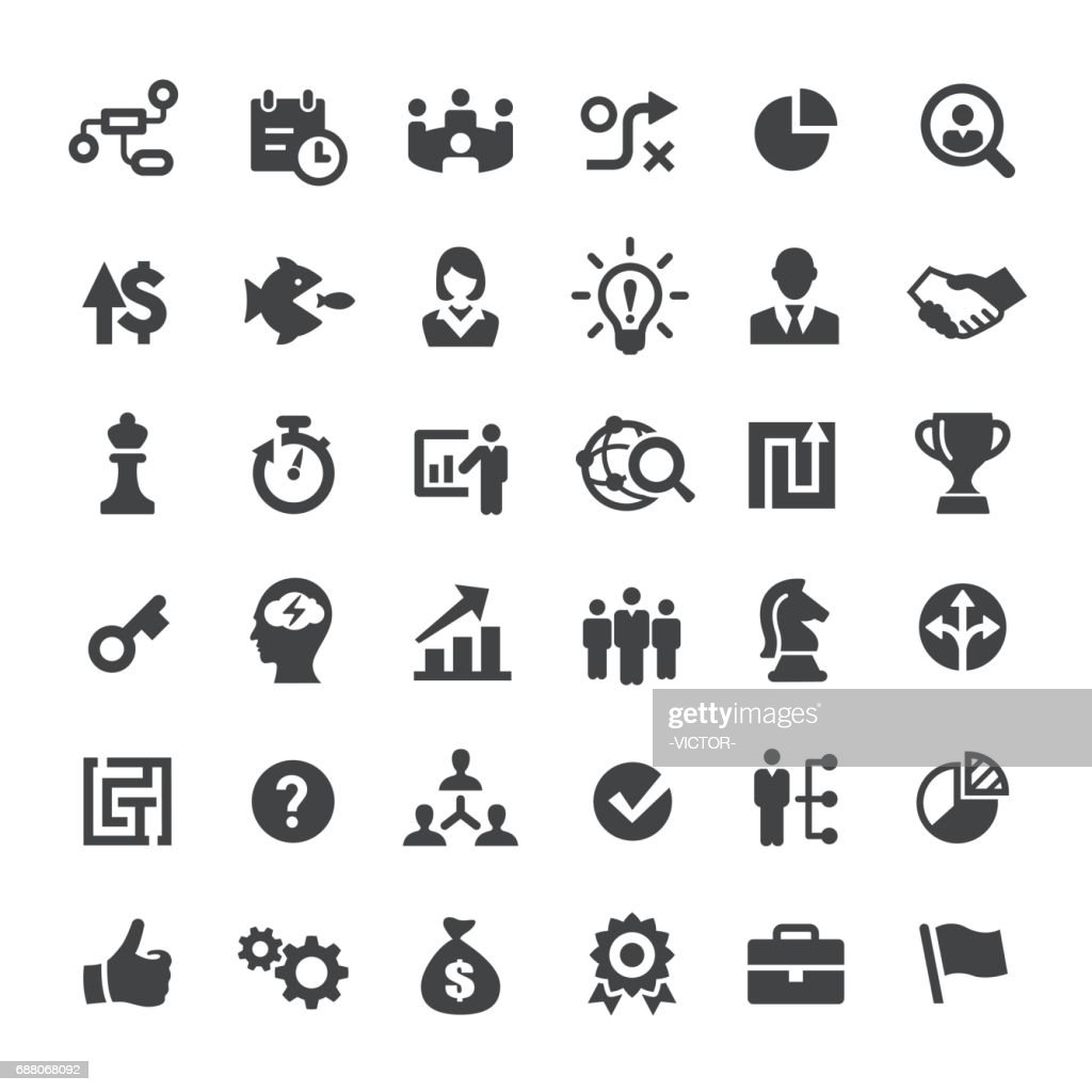 Corporate Business Icons - Big Series