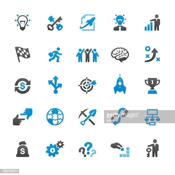 Corporate Business related vector icons