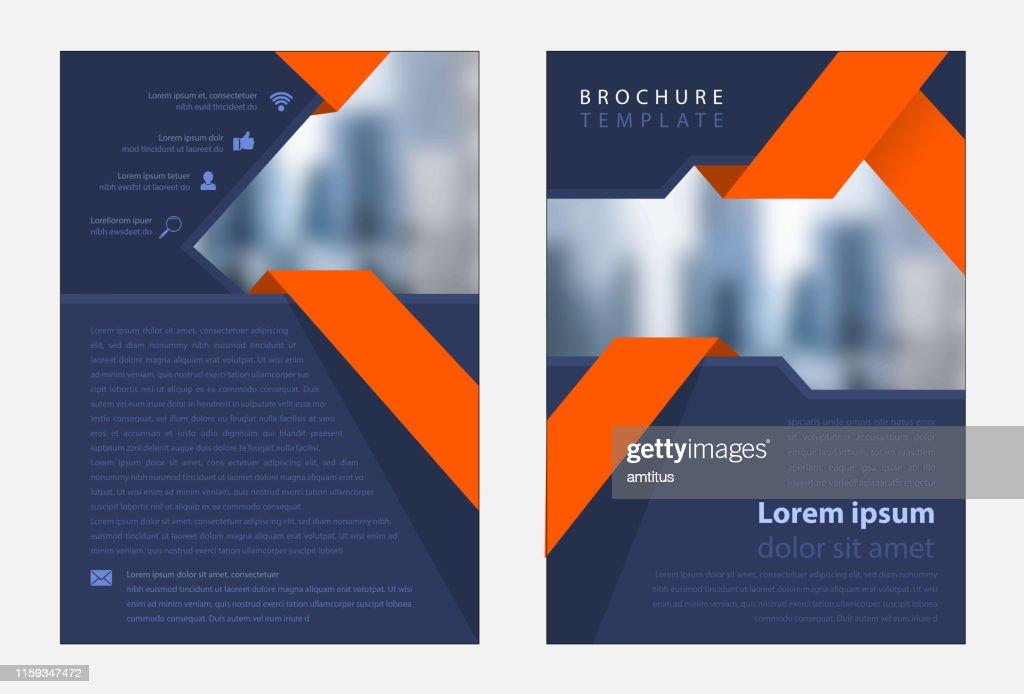 Unternehmensvorlage : Stock-Illustration