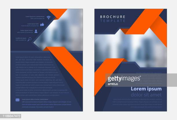 corporate business template - design stock illustrations