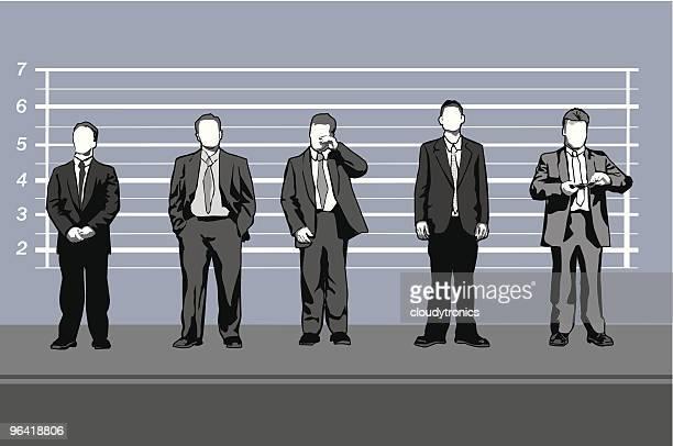 Corporate kriminellen (Vektor