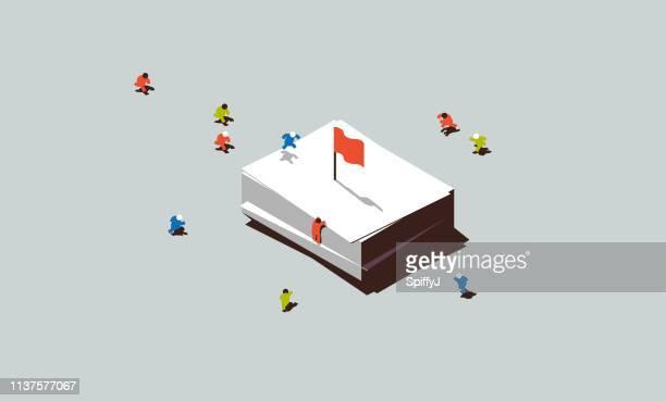 corporate culture - small stock illustrations