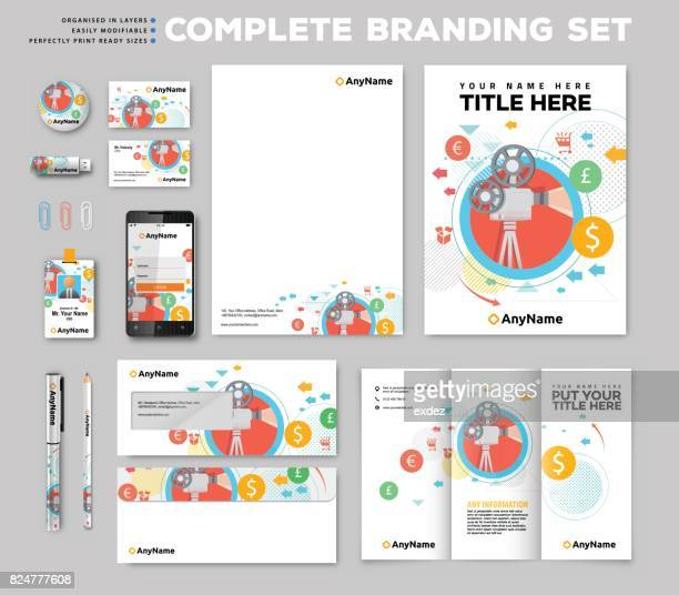 Corporate identity stationary items