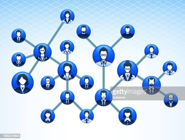 corporate social web - adulation stock illustrations, clip art, cartoons, & icons