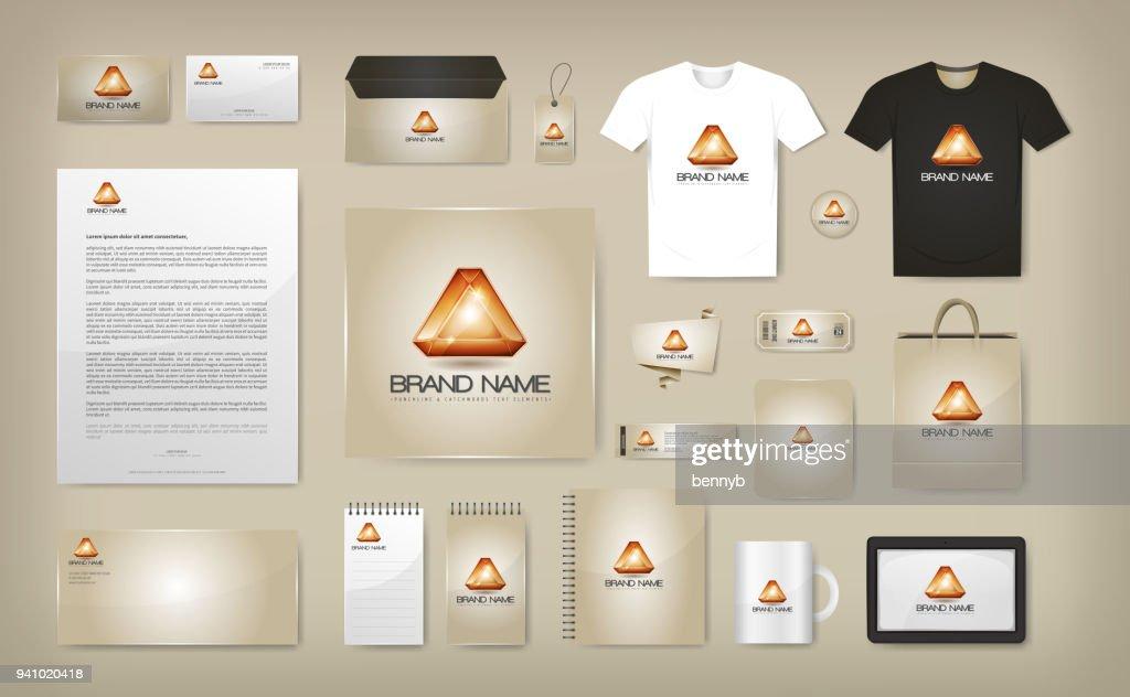 Corporate Visual Identity Mock Up