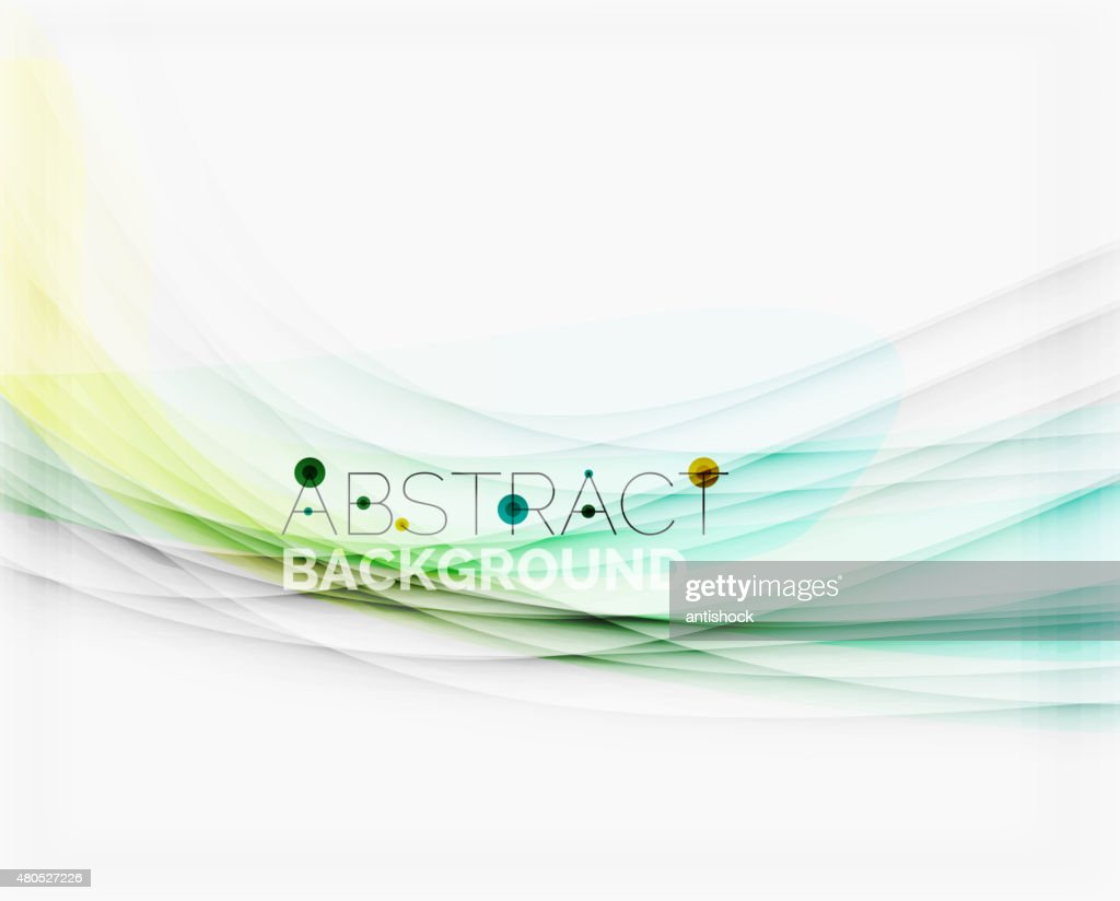 Corporate white background with gentle flowing waves : Vectorkunst