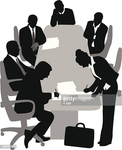 ilustrações de stock, clip art, desenhos animados e ícones de corporateclient - presidente de empresa