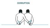Corruption business man