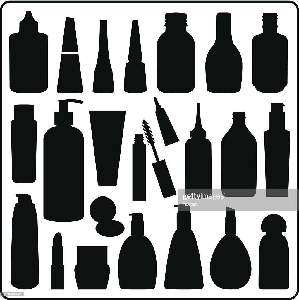 Cosmetic Materials, Black and White