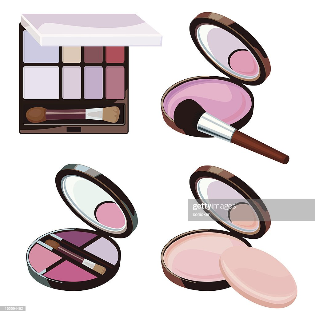 cosmetic powder collection