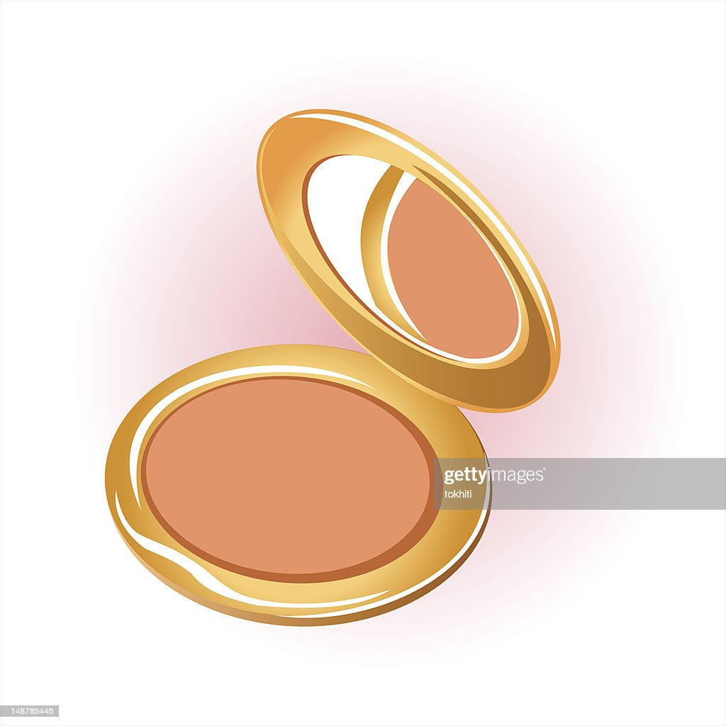 cosmetic powder compact