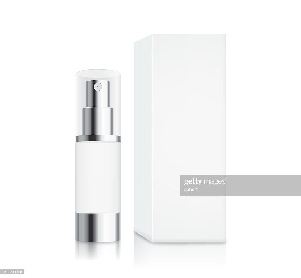 Cosmetic pump bottle small size