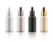 Cosmetic vials for essential, serum