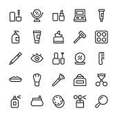 Cosmetics Icons - MediumX Line