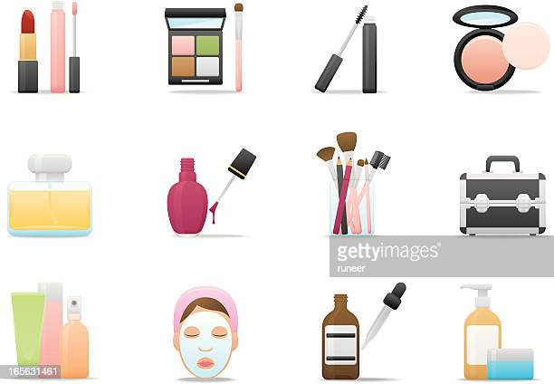 Cosmetics & Skin Care icons | Premium Matte series