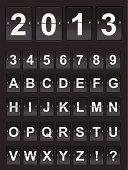 Countdown Alphabet