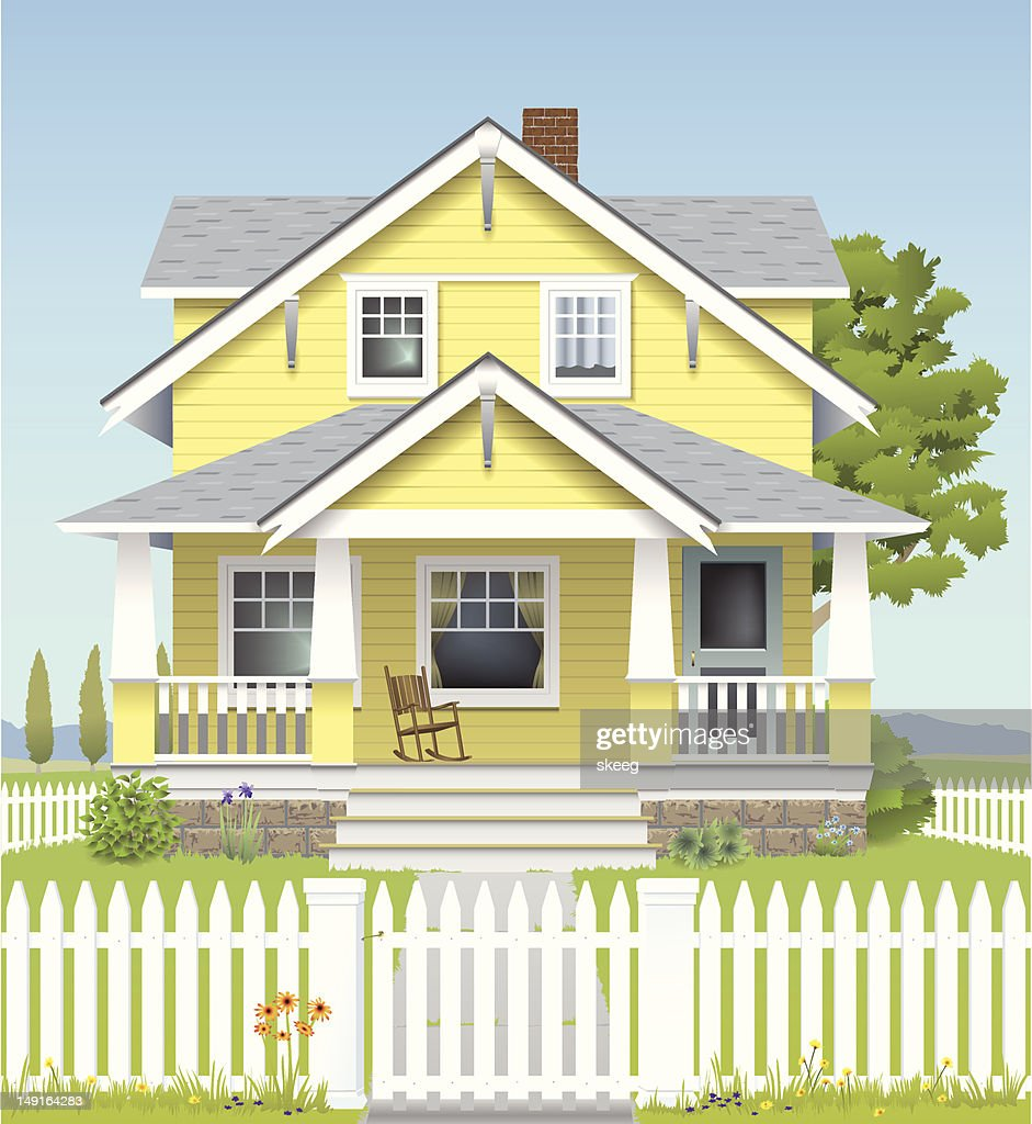 Country House : stock illustration
