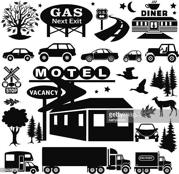 country motel design elements