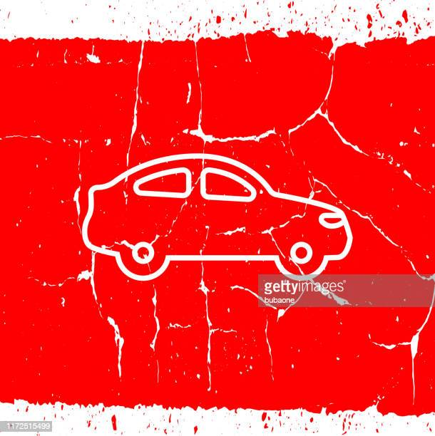 coupe car side view icon - hatchback stock illustrations, clip art, cartoons, & icons