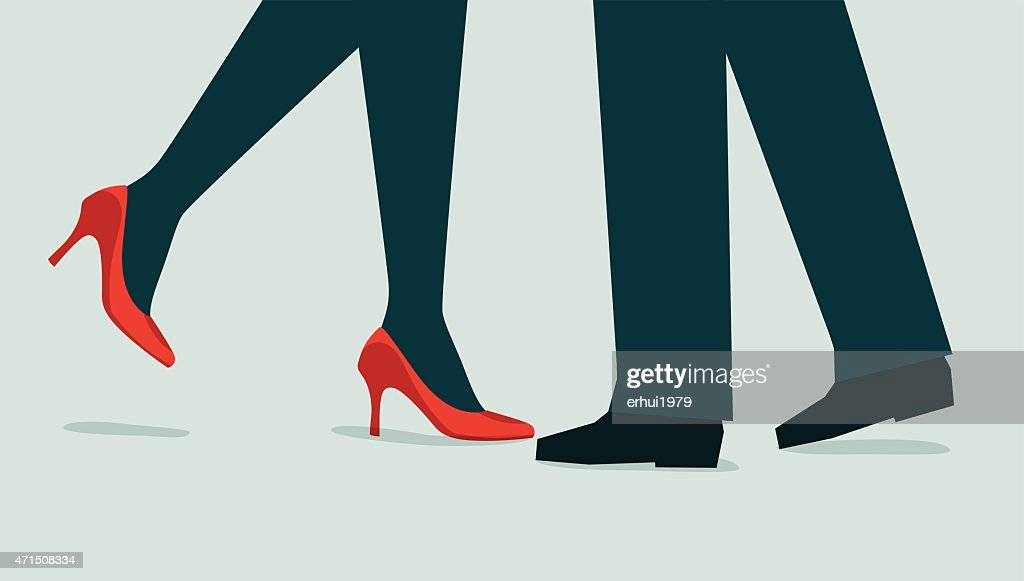 Couple-Illustration : stock illustration