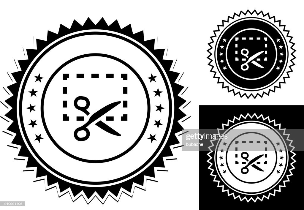Coupon With Scissors Cutting Vector Art Getty Images