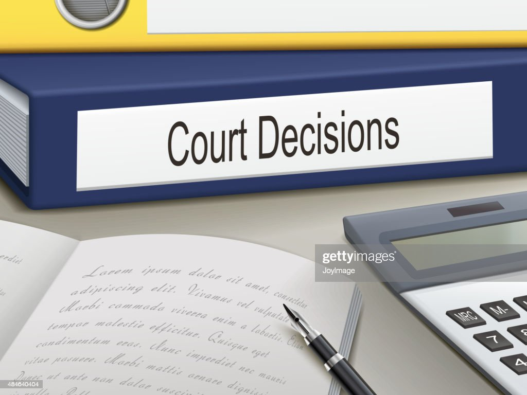 court decisions binders