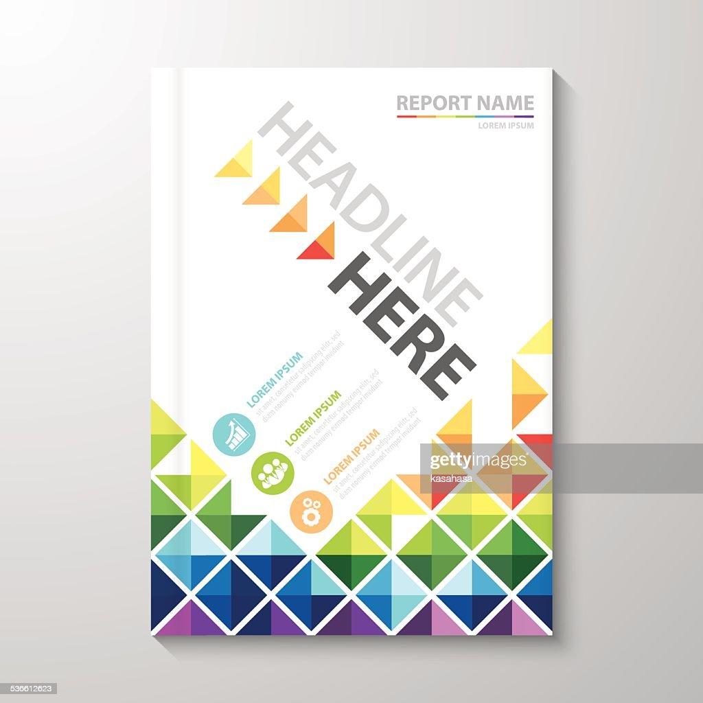 Cover Annual report design