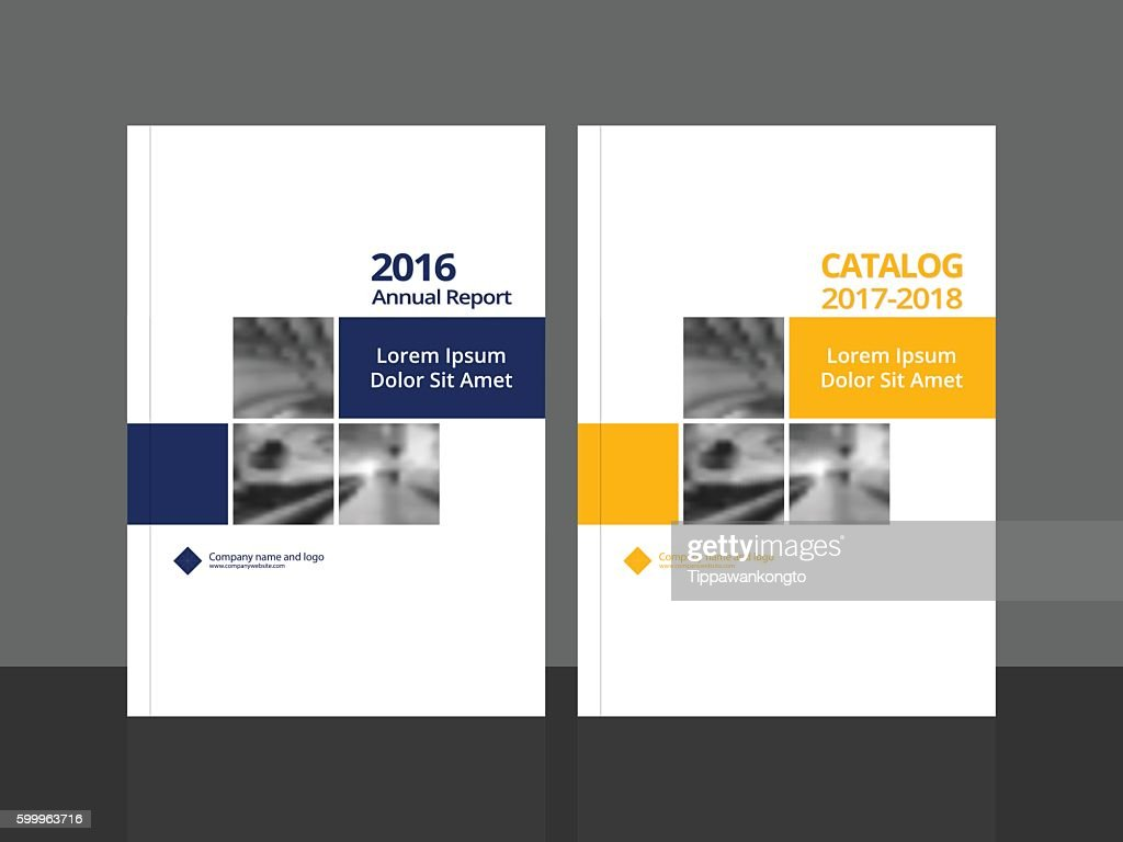 Cover design for annual report and catalog.