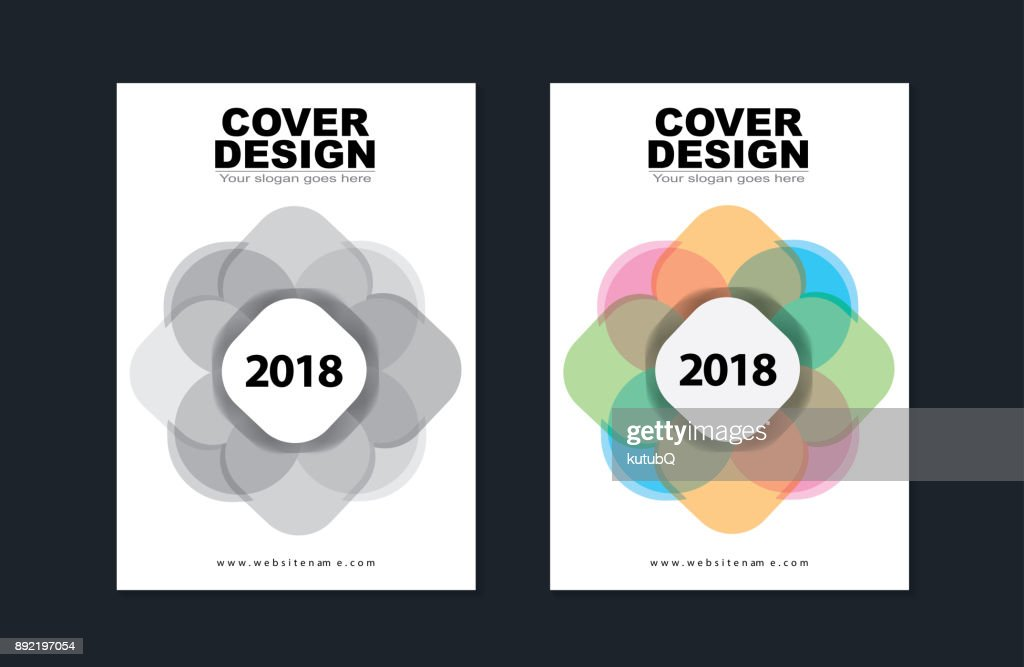 cover design template modern brochure leaflet catalog magazine